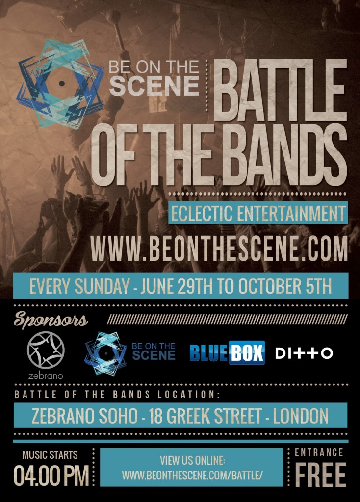 Battle of the Bands - Flyer - 2014